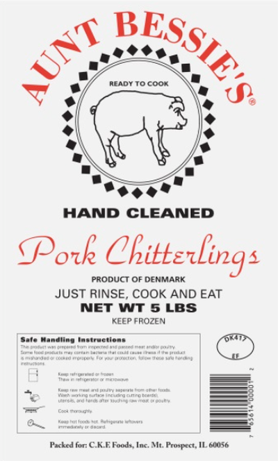 Aunt Bessie's Hand Clean Chitterlings